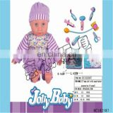 13 inch silicone reborn china baby alive doll with doctor set