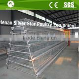 Large scale poultry farm use cheap price galvanized metal chicken cages for growing layers