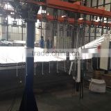 powder coating booth,powder curing oven,electrostatic coating line