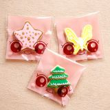 clear printed opp bag for cookie / snack / candy/ bread