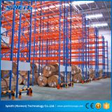 Heavy duty metal selective racking for industrial storage