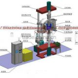 High efficiency vacuum hot press furnace