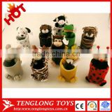 cheap hot sale lovely animal plush pen holder for kids