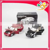 1:18 diecast free wheel six 6 doors can open