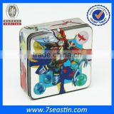 Metal playing card tin box / case for kids in high Japanese quality