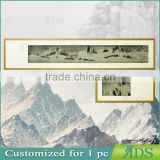 Framed Handmade Chinese painting with stone wall art painting