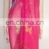 beach sarong with bright colour popular all around the world (PS-083101)