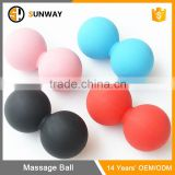 Portable Custom Massage Therapy Peanut Lacrosse Ball