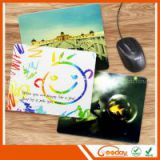 simple style traceless/removable mouse pad