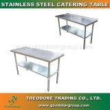 Good Star Group SStainless Steel Catering Table Kitchen Work Table Bench