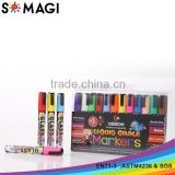 dust free liquid chalk markers highlighters - imported ink marker chalk marker pen white