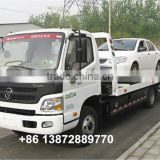 good quality comfortable 4x2 foton aumark rollback tow truck with good price