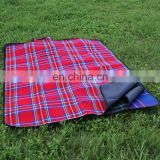 Hot selling picnic blanket outdoor high quality portable blanket