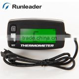 Runleader TEMP thermometer temperature meter for motorcycle construction machinery concrete mixer truck drilling machine engine