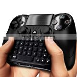 propshiping Black Bluetooth Mini Wireless Chatpad Message Keyboard for Sony Playstation 4 PS4 Controller Gmaepad