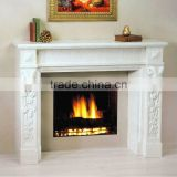 Stone Fireplace Marble Fireplace