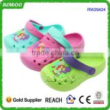 New York Injected EVA Garden Shoes With Backstrap Outdoor Kids Clogs