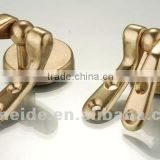 brass toilet seat hinge with accessory