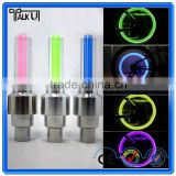 Hot sell new design custom led valve cap bicycle wheel light/led strip tire light