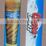 CMYK offset printing stainless steel bar blade beer bottle opener for OEM