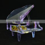 crystal <b>music</b> <b>box</b> with high-end crystal material mechanical <b>music</b> <b>box</b>