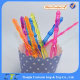 Food Grade Plastic Party Cocktail Pick /fork in Different Desgin