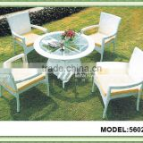 Stackable outdoor furniture Woven Rattan/wicker garden Set
