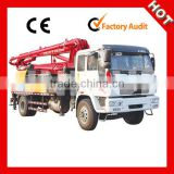 Hot Sale JH50-21 Concrete Pump Truck With Boom