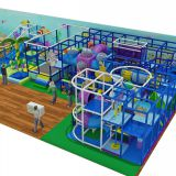 HLB-I17029 Indoor Children Fitness Structure Play Games for Kids