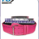 Womens Pink weight lifting belt