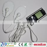 medical equipment, mini massager, tens ems Electronic Pulse Massager & digital massage therapy electrode