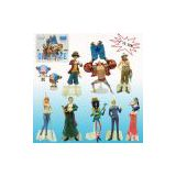(provide price list) wholesale for the new world 4-18.5cm luffy pop onepiece japanese toys (set)