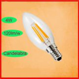 Triav Dimmable 4W led filament bulb,C35 E14 led filament