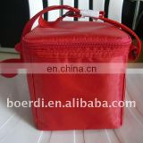 cooler bag red black,ice bag