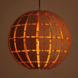 Ball Shaped Design Indoor wooden pendant lamp light