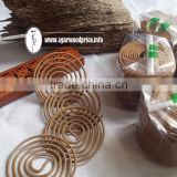 INCENSE BURNER AND VIETNAM OUD COIL- 3 HOURS BURNING FOR NEW FEELING AGARWOOD FRAGRANCE,
