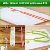 Silicone Bookmarks