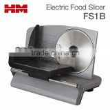 Heavy Duty Electric Meat & Food Slicer, Meat Cutter For Restaurant Home use,Silver Model FS1B