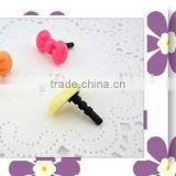 Sugar color ear phone dust plug
