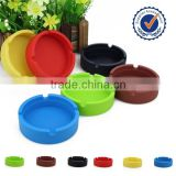 pocket portable silicon round ashtray