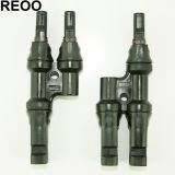 REOO T Branch Female and Male Connectors MC4 Solar Connector