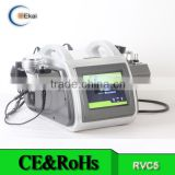 Skin Tightening VRC5 Beauty Salon Vacuum Tripolar 10MHz 8 Polar Rf Ultrasonic Cavitation Slimming Machine