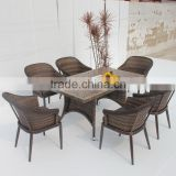 Dining Set New Design Patio Wicker Furniture (BP-3038)