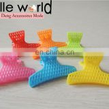 Wholesale Colors Small Size Plastic Hair Claw Clip Hairpin Accessories