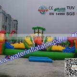 Amusement Popular Inflatable Water Park With Logo For Adults