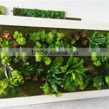 Home and outdoor decoration synthetic cheap 2m x 1m artificial vertical green grass wall E08 04C06