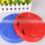 pliable and tough plastic pet dog frisbee, made in china