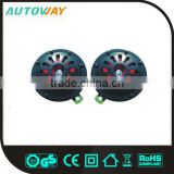 fashion black electric warning disc horn