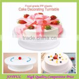 Best Selling Cake Decoration Baking Tools Plastic Cake DecoratingTurntable