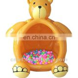 inflatable bear ball pool
